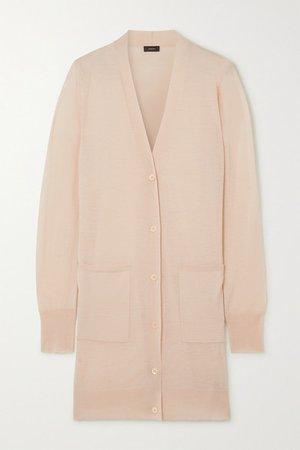 Cashmere Cardigan - Pastel pink