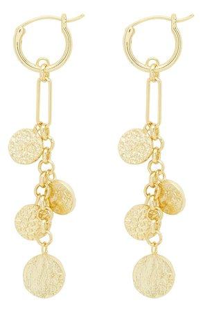 gorjana Banks Mixed Coin Drop Earrings | Nordstrom