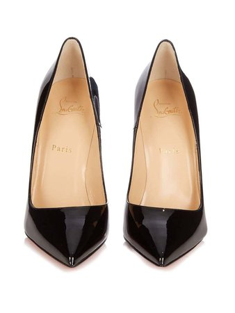 Christian Louboutin New Black Patent Leather So Kate High Heels Pumps