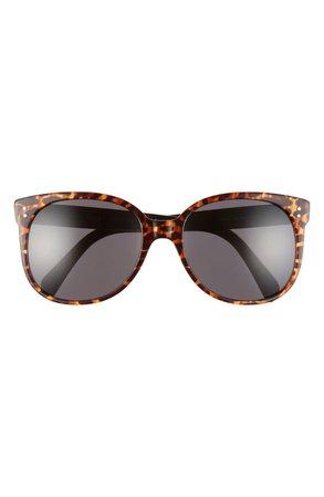 CELINE 58mm Cat Eye Sunglasses | Nordstrom