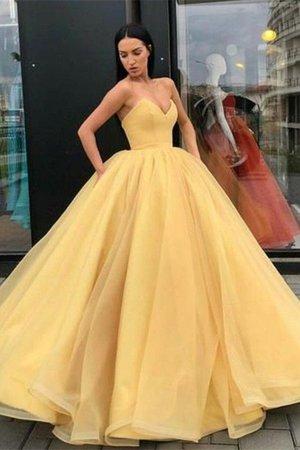 yellow ballgown