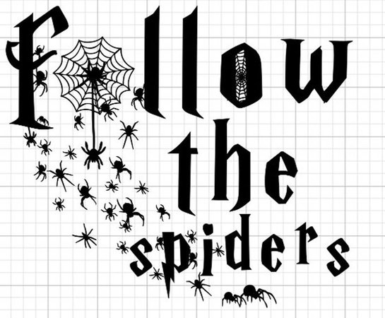 Follow the Spiders Harry Potter