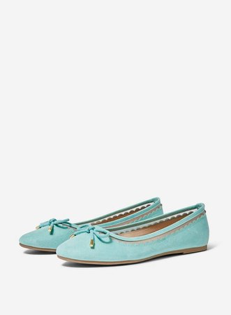 Wide Fit Green 'Pippa' Pumps   Dorothy Perkins