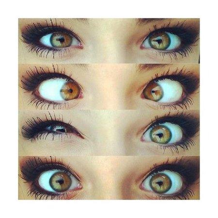 Light Brown Eyes