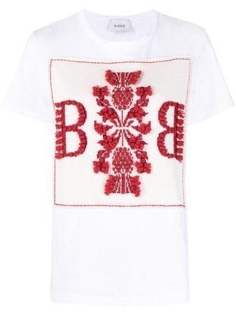 Barrie Logo Cashmere Patch T-shirt - Farfetch