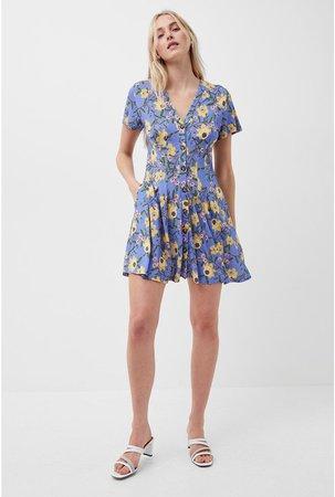 Eloise Meadow Jersey Dress