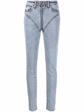 Alessandra Rich high-waisted Skinny Jeans - Farfetch