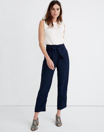 Drapey Paperbag Pants