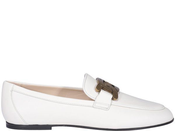 Tods Leather Loafers
