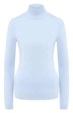 Женская голубая шерстяная водолазка GIVENCHY — купить за 61400 руб. в интернет-магазине ЦУМ, арт. BW90824Z5V