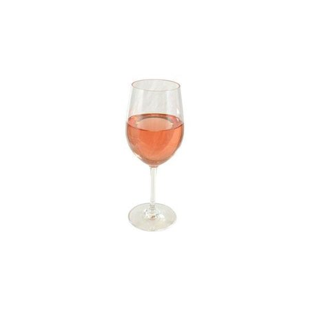glass of rosé