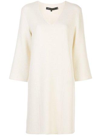 SALLY LAPOINTE, Fine Knit Shift Dress