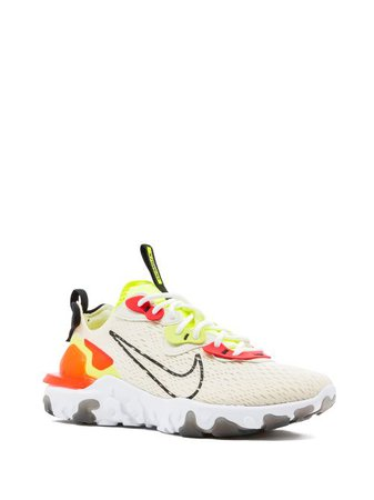 Shop white Nike React Vision sneakers with Express Delivery - Farfetch