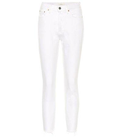 Karolina mid-rise skinny jeans