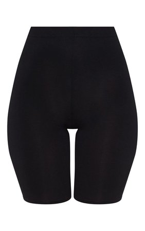 Basic Black Bike Shorts - Shorts - PrettylittleThing | PrettyLittleThing USA