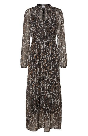 AWARE BY VERO MODA Ally Long Sleeve Dress | Nordstrom