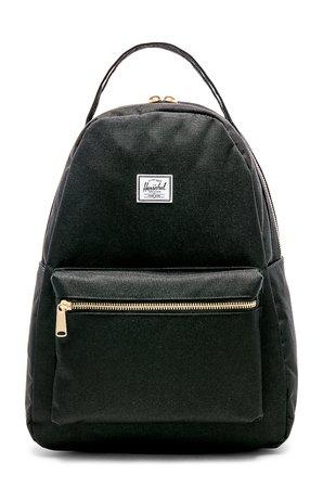 Herschel Supply Co. Nova Mid Volume Backpack in Black | REVOLVE