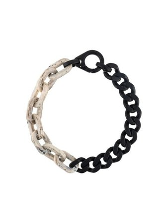 A-COLD-WALL* Two Tone Short Necklace