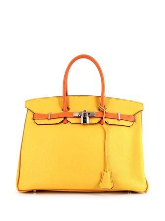 Hermès Sac à Main Birkin 35 pre-owned - Farfetch