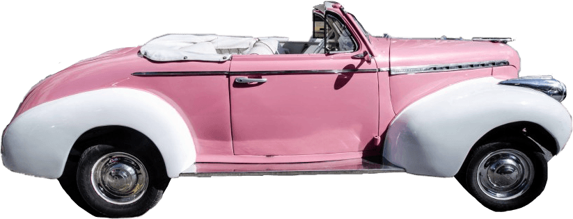 car retro pink pinkcar retrocar aesthetic pinkaesthetic...