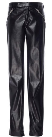 Patent Faux Leather Skinny Pants