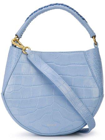 "Wandler ""Corsa"" Mini Tote Bag In Light Blue Leather | ModeSens"