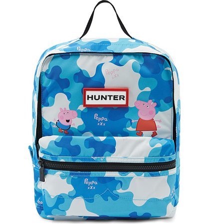 Hunter Peppa Muddy Puddles Nylon Backpack (Kids)   Nordstrom