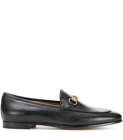 Jordaan Leather Loafers - Gucci |