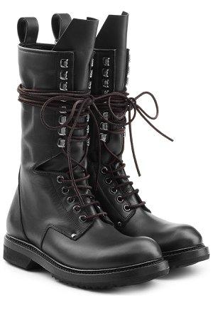Leather Combat Boots Gr. IT 38