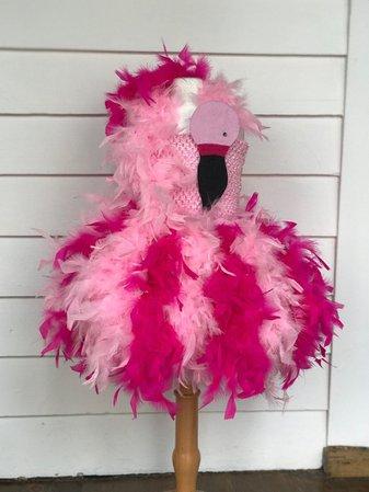 FLAMINGO flamingo costume flamingo tutu dress flamingo | Etsy