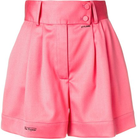 Styland high rise tailored shorts