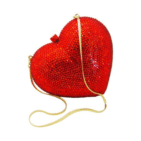 red heart purse - Google Search