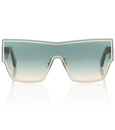 Rimless Rectangular Sunglasses - Loewe | Mytheresa