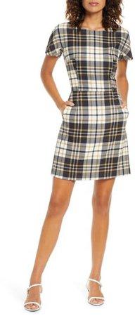 Eleanor Plaid Sheath Dress