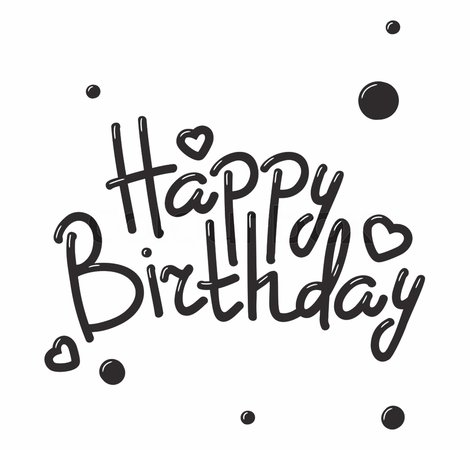 Happy Birthday Text Png Image Happy B Day - Clip Art Library