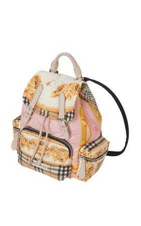 Printed Canvas Backpack by Burberry | Moda Operandi