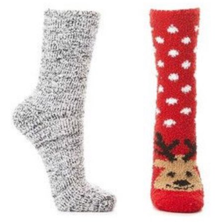 Reindeer Socks Set