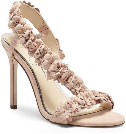 Jessin Ankle Wrap Sandal