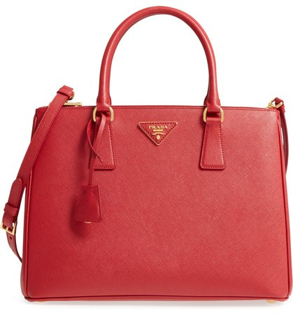 Prada Medium Galleria Saffiano Leather Tote | Nordstrom