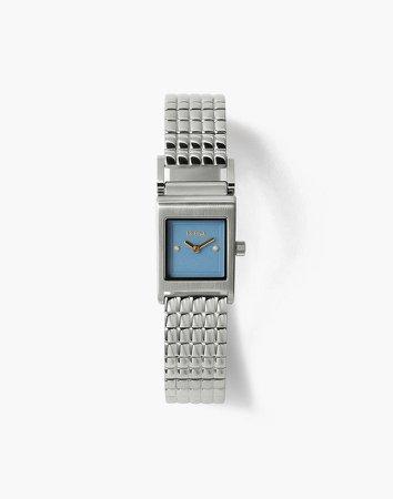 Breda Revel Silver Stainless Steel Bracelet Watch