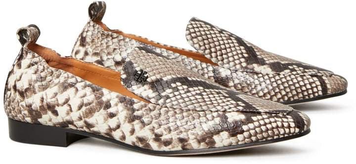 Kira Embossed Stretch Loafer
