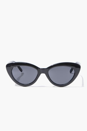 Opaque Cat-Eye Sunglasses | Forever 21