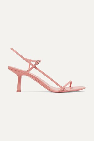 Blush Bare leather sandals | The Row | NET-A-PORTER
