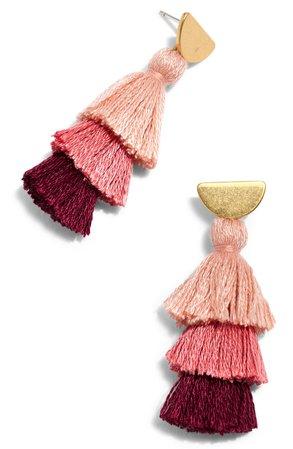 Madewell Tiered Tassel Earrings | Nordstrom