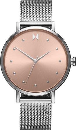 Dot Mesh Strap Watch, 36mm