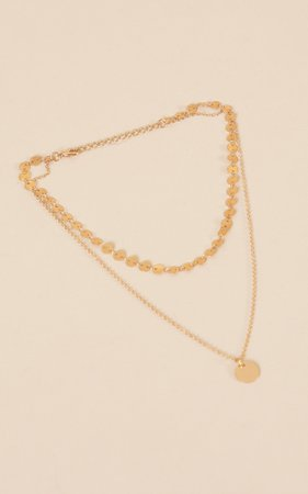 Miami Nights Necklace in Gold | Showpo