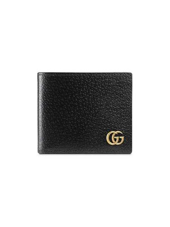 Gucci GG Marmont Leather bi-fold Wallet - Farfetch