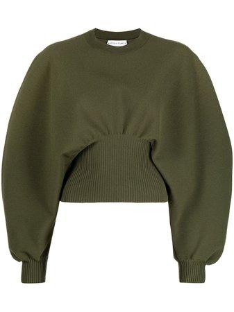 Bottega Veneta balloon-sleeve Sweatshirt - Farfetch