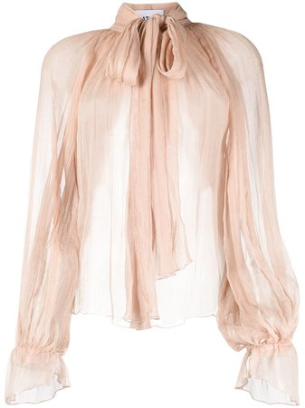 Atu Body Couture Pussy Bow Blouse - Farfetch
