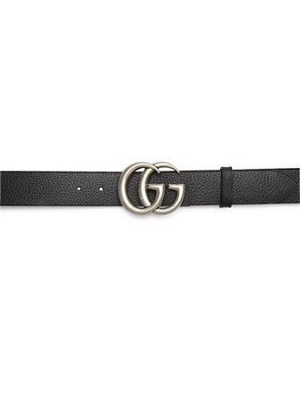 Gucci GG Buckle Leather Belt | SaksFifthAvenue